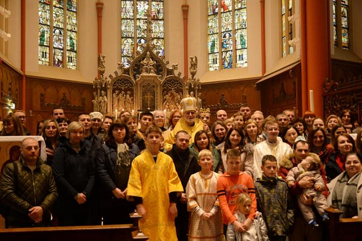 «Ми повинні бути апостолами», – владика Борис Ґудзяк до української громади в Утрехті