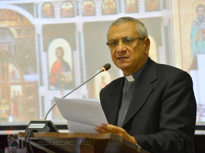 «Українці посідають п'яте місце за чисельністю національної групи в Італії», – отець Джованні де Робертіс