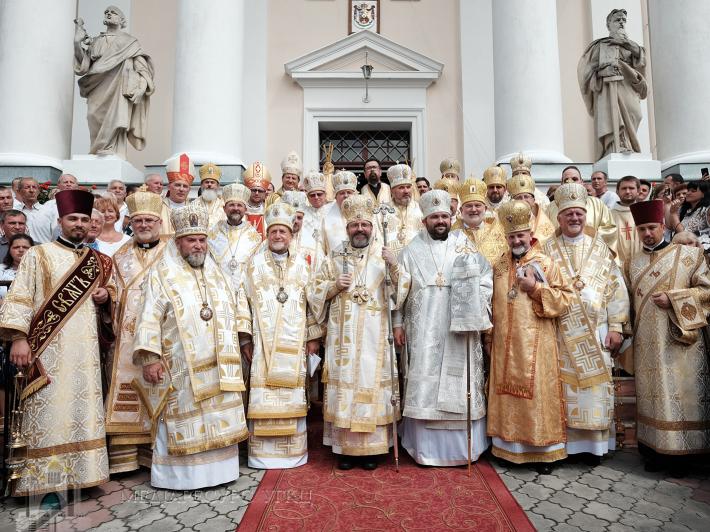 «Сьогодні владика Петро увійшов у сопричастя з усіма наслідниками апостолів у Вселенській Церкві», – Глава УГКЦ у Сокалі