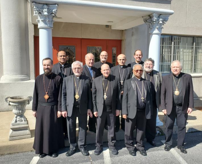 Східні католицькі єпископи США зібралися  на щорічну зустріч у Сент-Луїсі, штат Міссурі