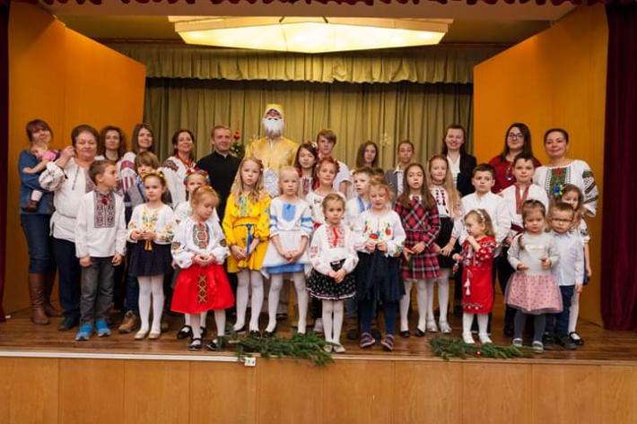 Для української малечі в Угорщині провели свято Миколая