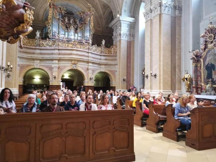 Українці в Угорщині відзначили Хрещення Русі-України