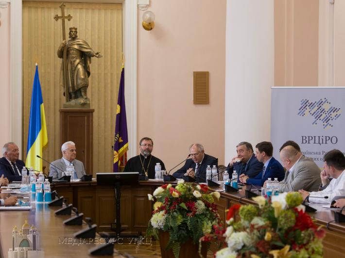 «Ми хочемо спільно послужити українському народові», – Блаженніший Святослав на конференції з нагоди 25-річчя ВРЦіРО