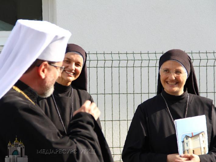 Глава УГКЦ привітав Чернечу родину сестер Воплоченого Слова з проведеннням Провінційної капітули