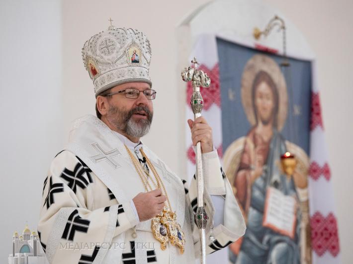 Глава УГКЦ в неділю Мироносиць: «Сьогодні Церква нам вказує на те, якою високою є гідність жінки, відповідно до Божого задуму»
