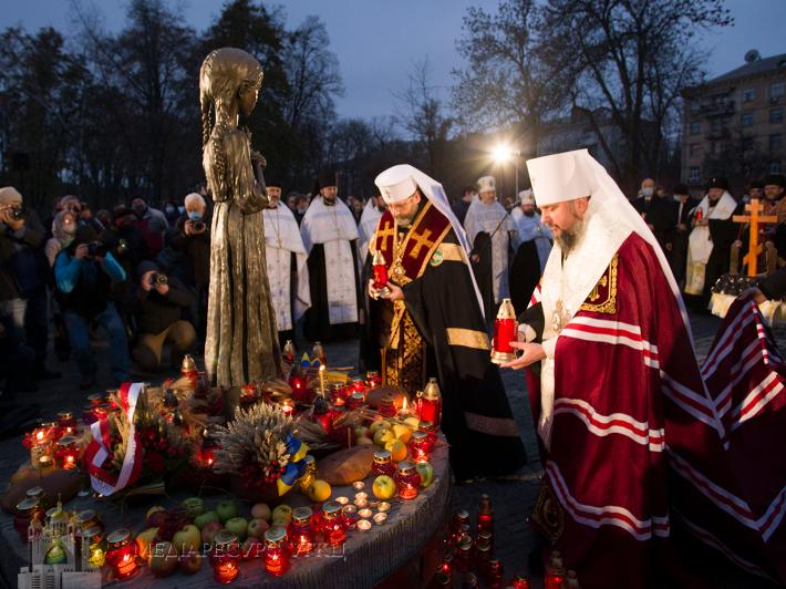 Предстоятелі УГКЦ та ПЦУ спільно помолилися панахиду за жертв Голодомору