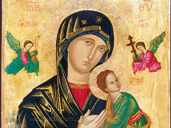 В УГКЦ встановили свято Матері Божої Неустанної Помочі