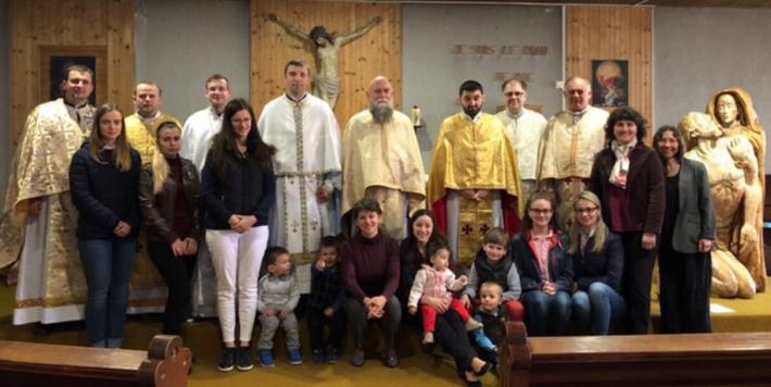 Завершилися треті щорічні реколекції священичих родин Паризької єпархії