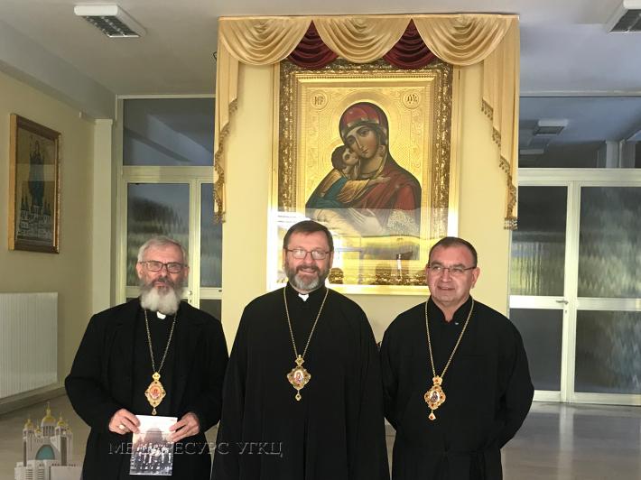 Блаженніший Святослав у Римі зустрівся з ієрархами УГКЦ із Бразилії