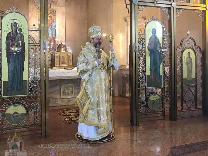 «Український народ врятується лише тоді, коли ми будемо дбати один про одного», — Блаженніший Святослав у монастирі «Студіон» у Римі