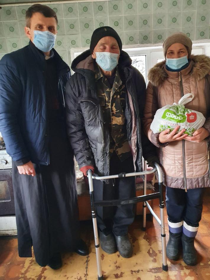На Білоцерківщині греко-католики провели благодійну акцію «Нагодуй бідного»