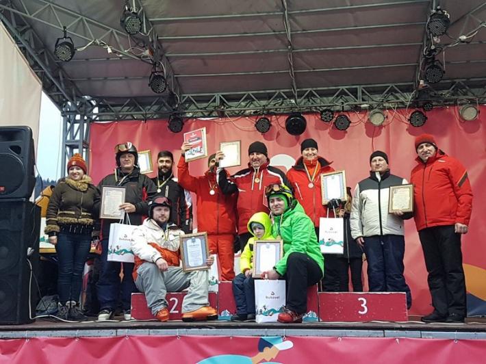 Завершилися лижні змагання зі слалом-гіганту серед духовенства єпархій УГКЦ