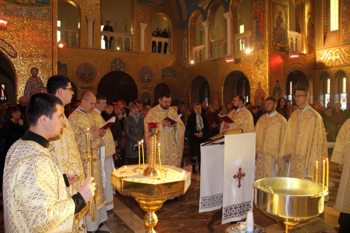 У соборі Святої Софії в Римі відбувся храмовий відпуст