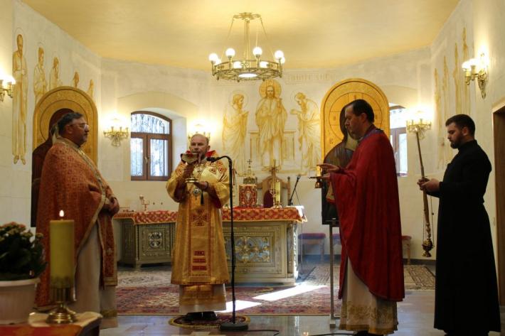 Екзарх Харківський відслужив подячну Святу Літургію з нагоди 5-річчя екзархату