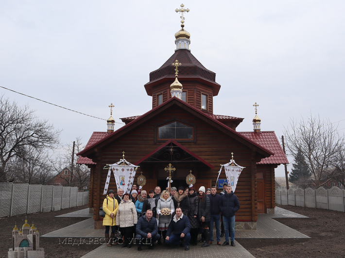 У Донецькому екзархаті УГКЦ освячено відразу два нових храми