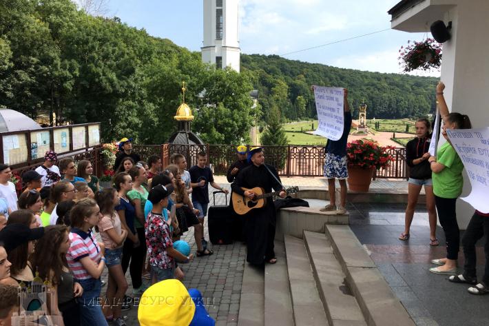 Табір у Зарваниці об'єднав дітей з усієї України