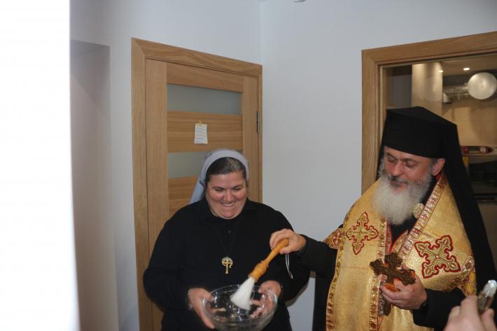 У Луцькому екзархаті освятили генеральний дім Згромадження сестер Божого Провидіння