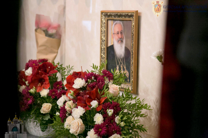 У крипті Патріаршого собору відбулася Панахида за упокій Блаженнішого Любомира Гузара