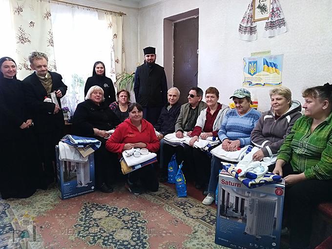 У Чернігові Карітас-Київ надав допомогу для незрячих
