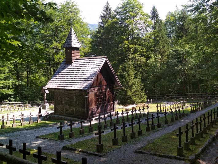Українці Угорщини відвідали військовий цвинтар у словенському місті Уканц