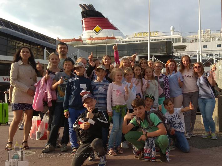 БФ «Карітас-Київ» провів для дітей ветеранів АТО літній табір у Швеції