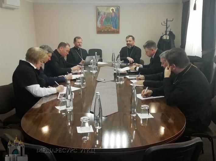 У Львові провели першу робочу зустріч, готуючись до VII сесії Патріаршого Собору УГКЦ