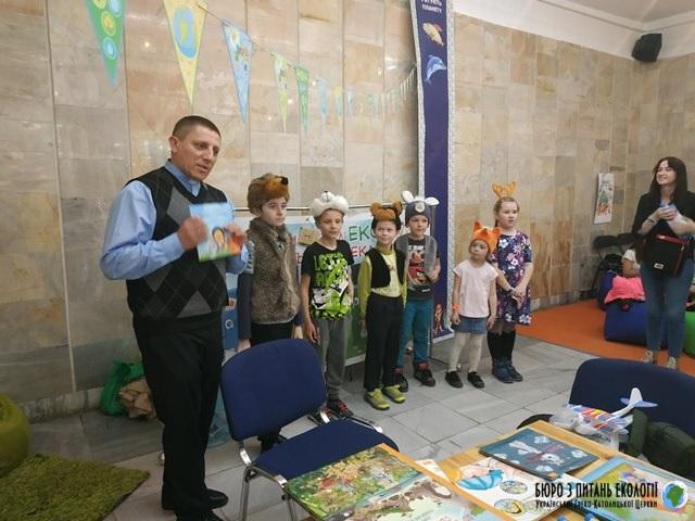 """Бюро УГКЦ з питань екології дебютувало на Дитячому книжковому фестивалі """"Книгоманія"""""""