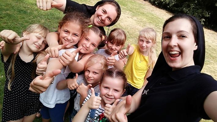 Для дітей антверпенської греко-католицької парафії вперше провели «Веселі канікули з Богом»