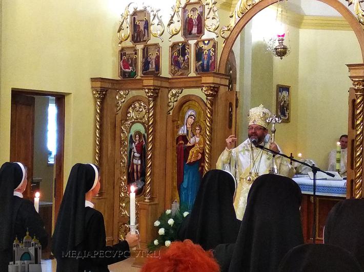Глава УГКЦ: «Жити християнським життям можна лише ідучи рука об руку зі своїм Богом»