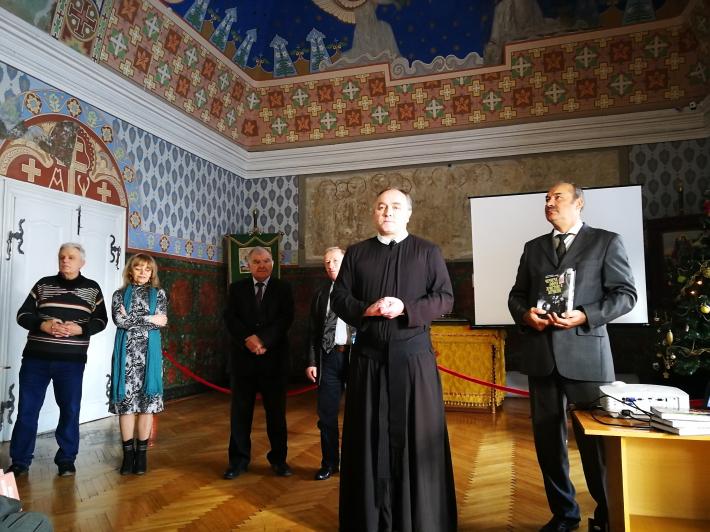 Oтця Климентія Стасіва (ЧСВВ) відзначили Всеукраїнською літературною премією