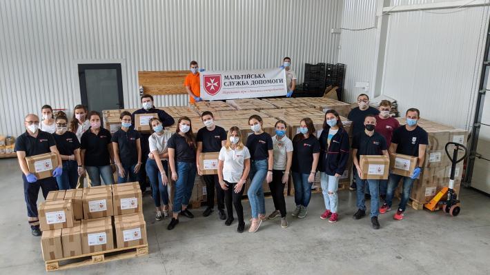 Мальтійська служба допомоги закінчила акцію «Допомога найбільш вразливим в часі карантину»