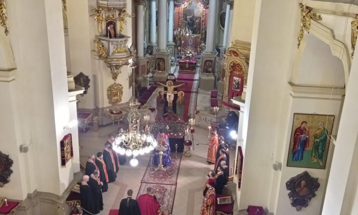 У Хрестопоклонну неділю в архикатедрі Святого Юра відбулася міська Хресна дорога