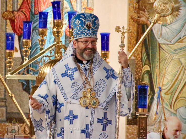 «Сьогодні Господь запалює світло серед темряви світу», — Блаженніший Святослав в соборі Непорочного Зачаття у Філадельфії