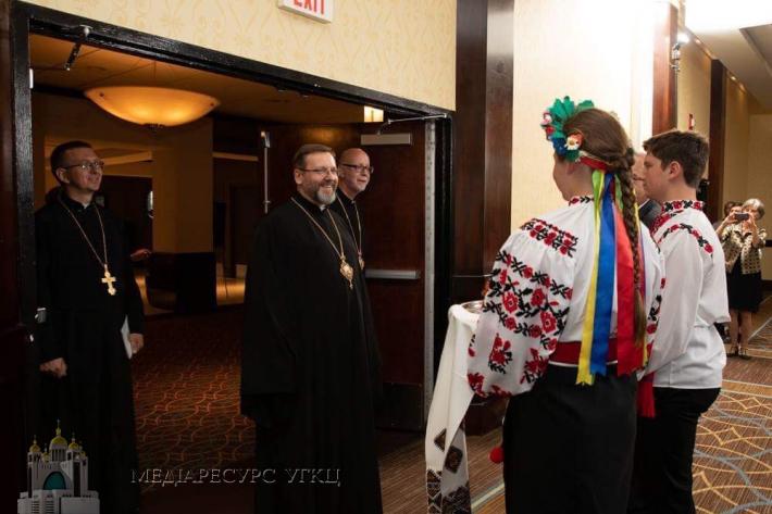«Ми покликані тепер показати світло надії українському народу», — Блаженніший Святослав у Стемфорді (США)