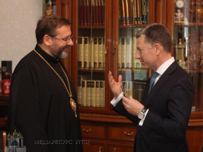 У Римі відбулася зустріч Глави УГКЦ та Спецпредставника Держдепартаменту США з питань України
