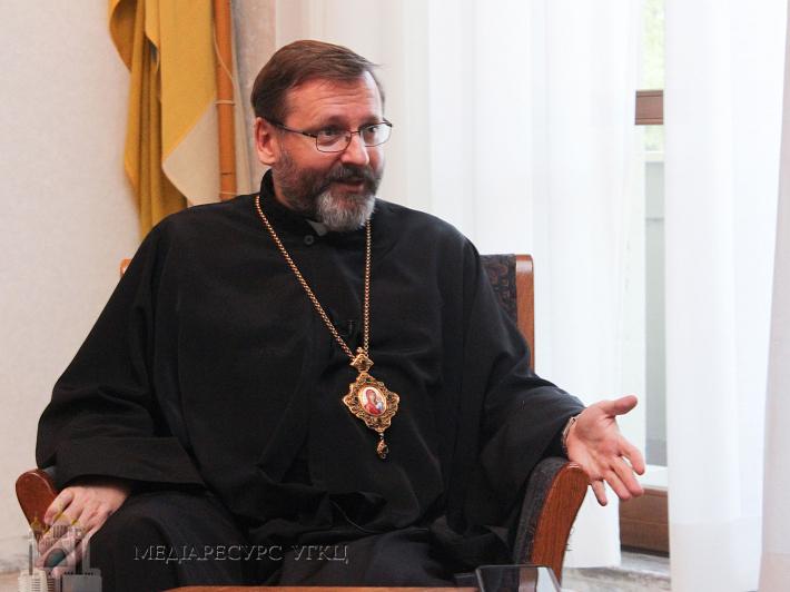Глава УГКЦ переконаний, що сопричастя для Православних Церков в Україні та для китайських єпископів – дві епохальні події