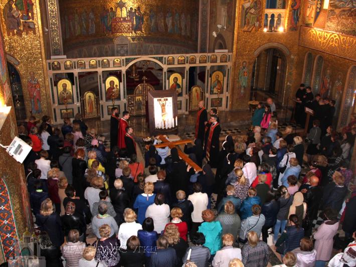 У соборі Святої Софії у Римі перебуває ікона Розп