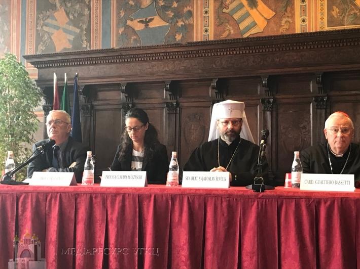Глава УГКЦ в університеті м. Перуджія (Італія) закликав  «переосмислити Європу»