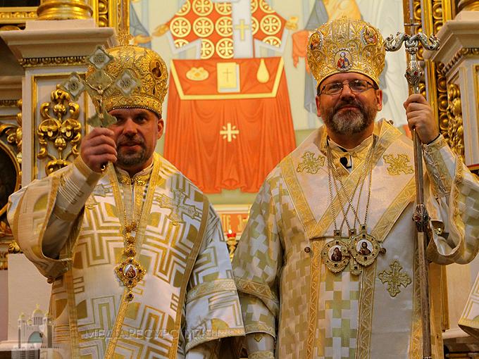 У Чернівцях Глава УГКЦ закликав греко-католиків молитися за православних братів