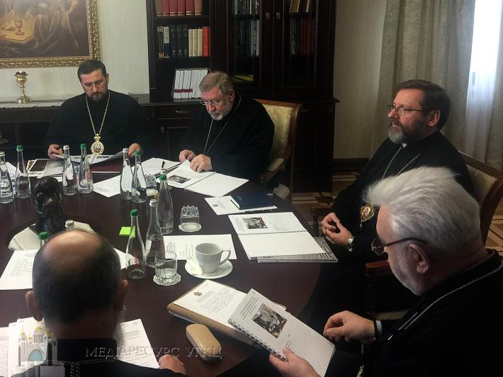 У Києві розпочав свою роботу Синод Єпископів Києво-Галицької Митрополії