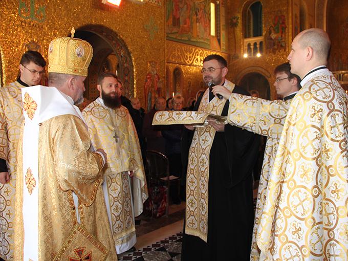 Митрополит Львівський Ігор (Возьняк) очолив Літургію в соборі Святої Софії у Римі