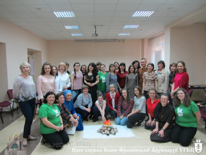 Інтерактивний семінар катехитів відбувся в Івано-Франківську