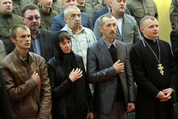 Священик Центру військового капеланства привітав військових Другої Галицької бригади Національної гвардії України з Днем частини