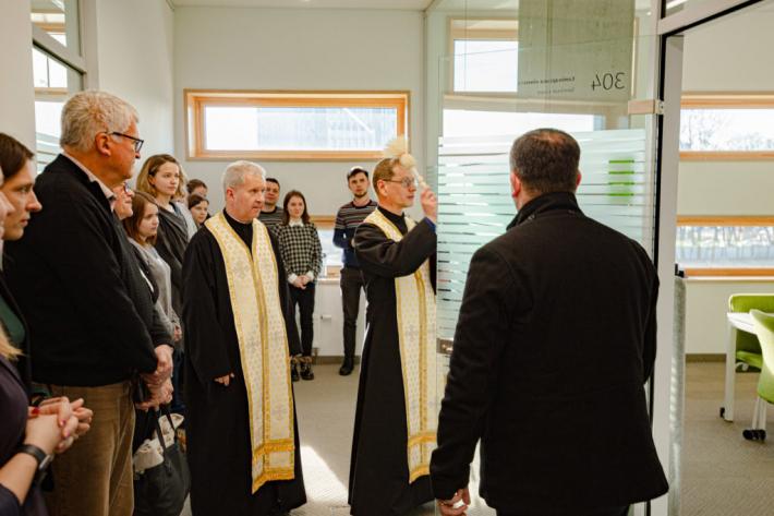 В УКУ відбулося урочисте найменування кімнат на пам'ять про Антіна Княжинського та Ореста Турчина