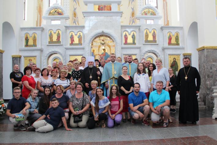 До Зарваниці вперше здійснили паломництво прочани зі Словаччини