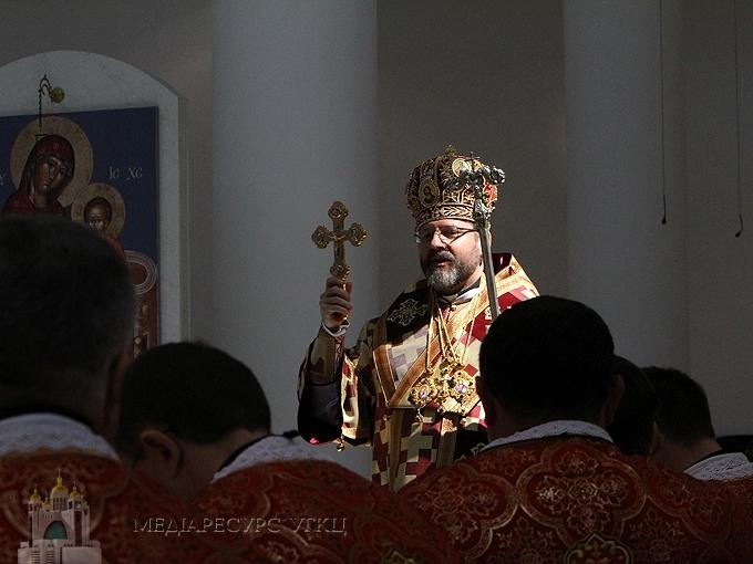 Блаженніший Святослав: «Священик – духовний батько на парафії»