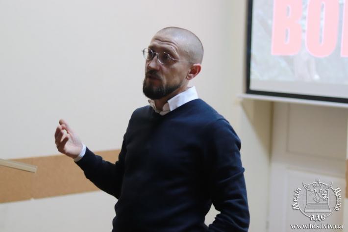 Студенти Львівської духовної семінарії Святого Духа зустрілися з о. Андрієм Зелінським