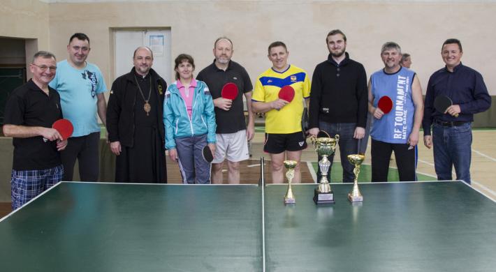 У Стрийській єпархії назвали кращих тенісистів