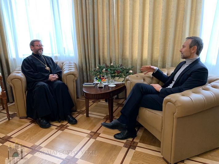 Блаженніший Святослав поговорив з Святославом Вакарчуком про цінності та інституції