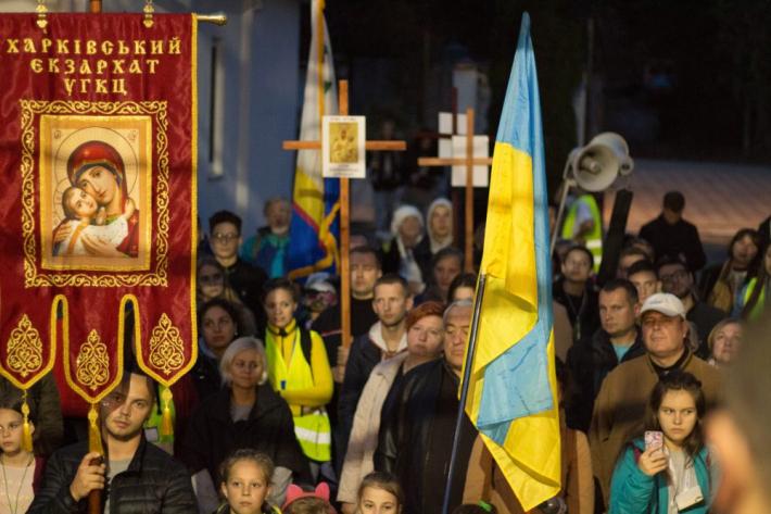 Вчетверте відбулася піша проща Харків – Покотилівка